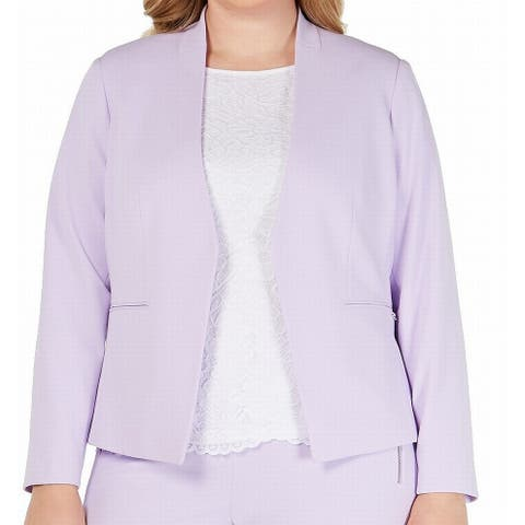 Calvin Klein Women's Jacket Plus Open Front Blazer