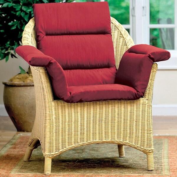 Total Chair Cushion - Burgundy
