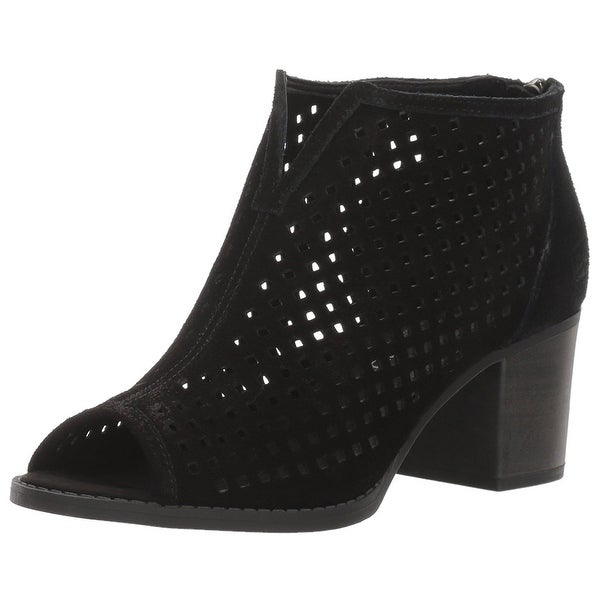 Dirty Laundry Womens Too cute Peep Toe Ankle Fashion Boots