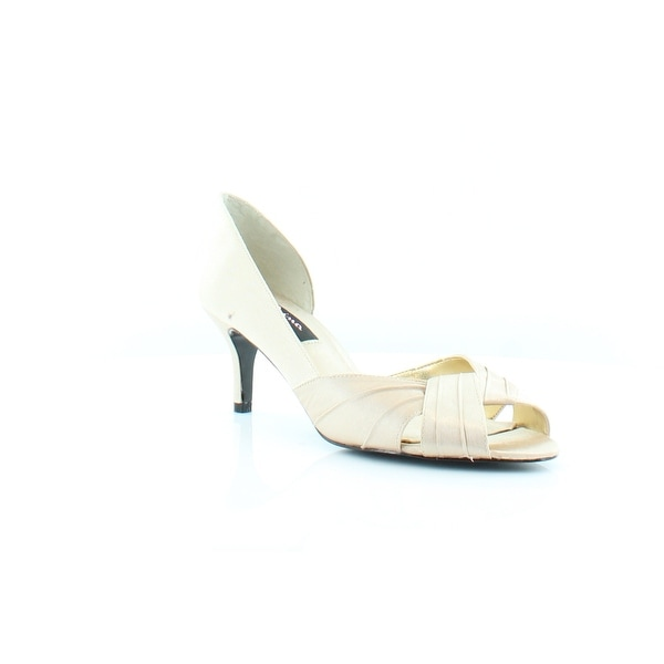 Nina Culver Women's Heels Gold Royal - 7.5