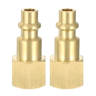 """Quick Coupler , Quick-Connect Fitting , 1/4-Inch NPT Female Thread , Pack of 3 - 1/4""""NPT Female Quick Coupler"""