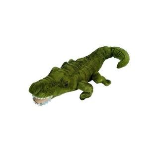 "Wishpets Unisex-Child Gator Plush Toy 11"" Green"