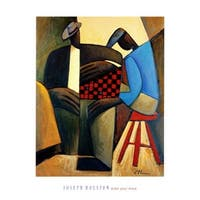 ''Make Your Move'' by Joseph Holston African American Art Print (30 x 24 in.)