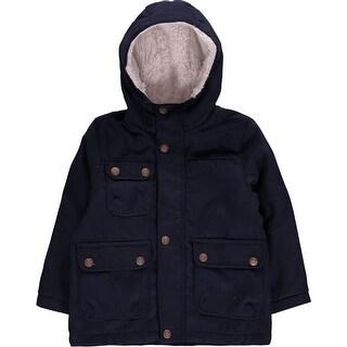 London Fog Boys 2T-4T Wool Parka Jacket