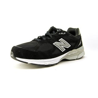 New Balance M990 Round Toe Suede Running Shoe