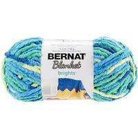 Spinrite 161213-13009 Bernat Blanket Brights Yarn - Surf Variegated
