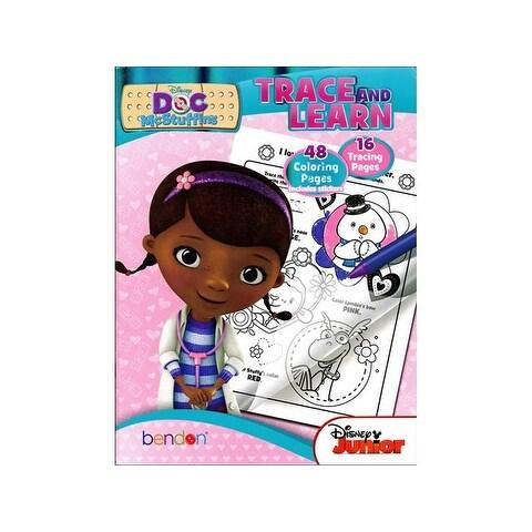 Bendon Trace & Learn Bk Disney Doc McStuffins