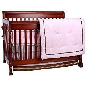 Kidsline Little Boutique Nursery Collection 8 Piece Crib Bedding Set - Pink / Blue