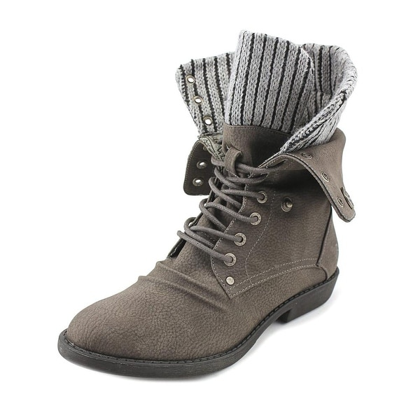 Blowfish Alexi Women Pointed Toe Synthetic Gray Ankle Boot