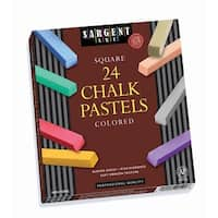 24Ct Assorted Color Artists Chalk
