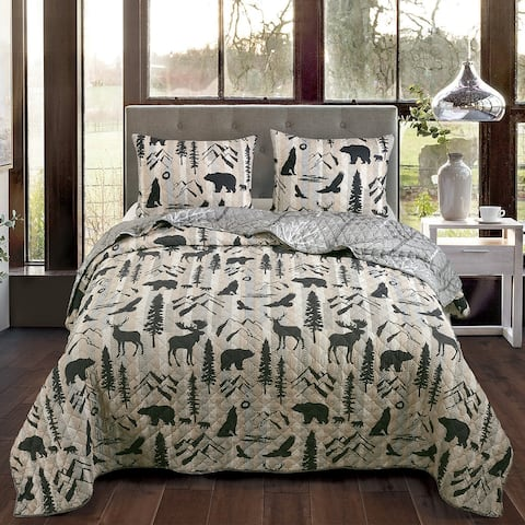 Your Lifestyle by Donna Sharp Forest Weave Quilt Set