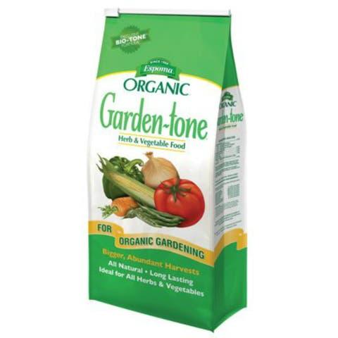 Espoma GT1 Garden-Tone Organic Herb & Vegetable Food, 3-4-4, 1.5 Lbs