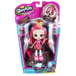 Shopkins Season 6 Chef Club Doll Donatina - multi