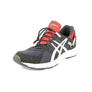 Asics Gel-Synthesis Men Round Toe Synthetic Black Running Shoe