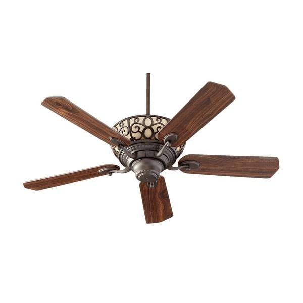 """Quorum International 69525 Cimarron 52"""" 5 Blade Indoor Ceiling Fan"""