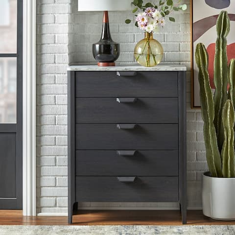 Simple Living Keely 5-Drawer Chest