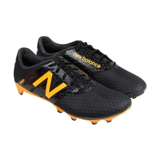 New Balance Furon Pro FG Mens Black Athletic Soccer Cleats Shoes