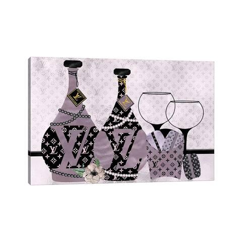 "iCanvas ""Champagne, Macarons & Louis"" by Pomaikai Barron Canvas Print"
