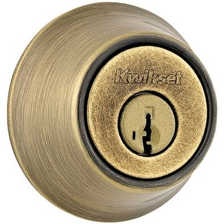 Kwikset 665-S  Double Cylinder Deadbolt with SmartKey from the 660 Series