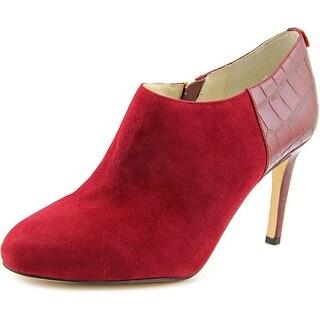 Red Suede Heels