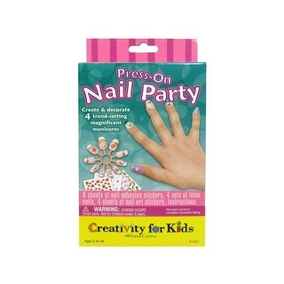FaberCastell Creativity/Kids Press On Nail Party