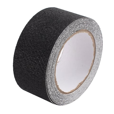 Black Anti-Slip Non-Slip Safety Tape High Traction Indoor Outdoor 50mmx5m