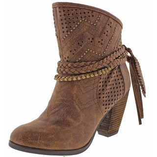Not Rated Adylene Women's Rhinestone Ankle Booties