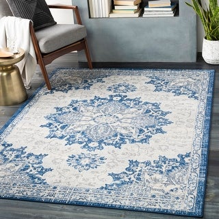 Link to Leelu Vintage Medallion Area Rug Similar Items in Rugs