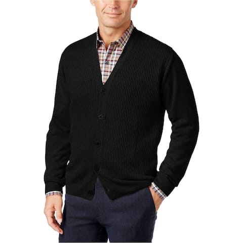 Weatherproof Mens Soft Touch Cardigan Sweater