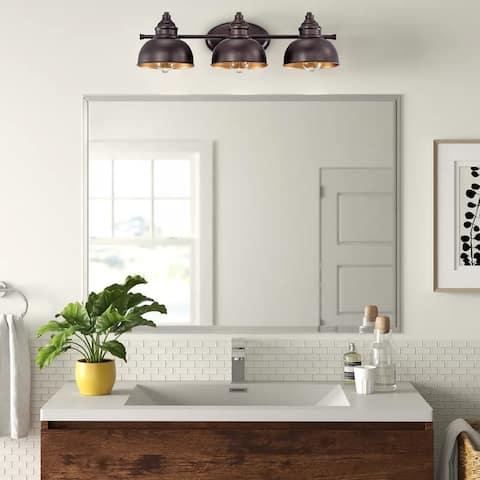 "3-Light Dimmable Bath Vanity Light - 7.5""x26""x7.5"""