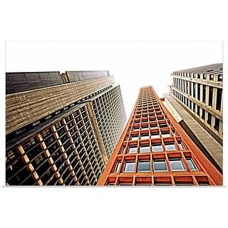 """Skyscrapers in Sao Paulo, Brazil"" Poster Print"