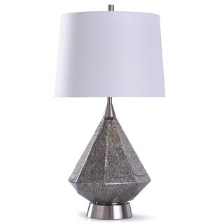 Shop For Stylecraft Chorley Brushed Silver Textured Wavy Urn Table Lamp With White Drum Shade Get Free Delivery On Everything At Overstock Your Online Lamps Lamp Shades Store Get 5 In Rewards With Club O 30297748