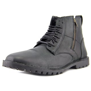 Steve Madden Norlyns Men Round Toe Leather Boot