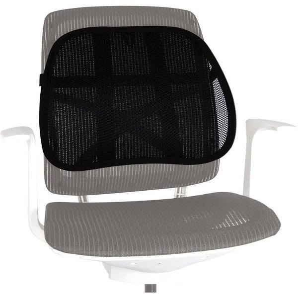 Fellowes, Inc. - Designed To Attach Easily To Any Chair, The Office Suites Back Support Reduces T