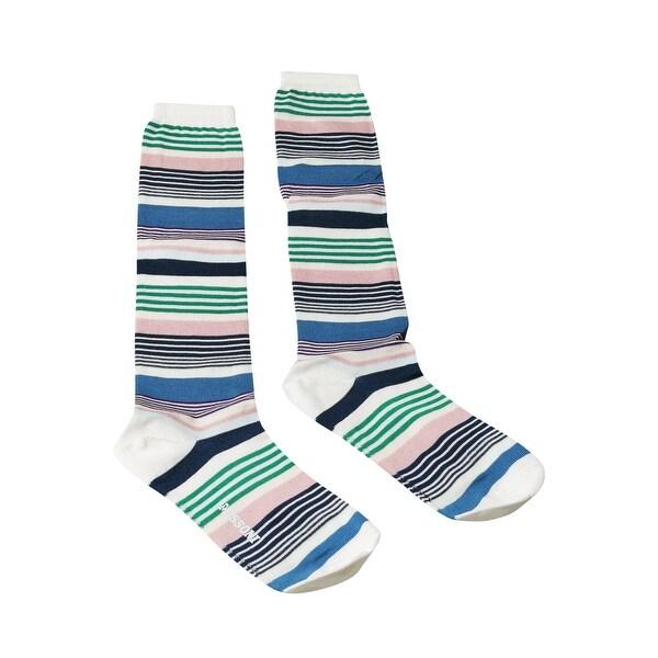 Missoni GM00CMD4936 0002 Blue/Green Boot Socks - M