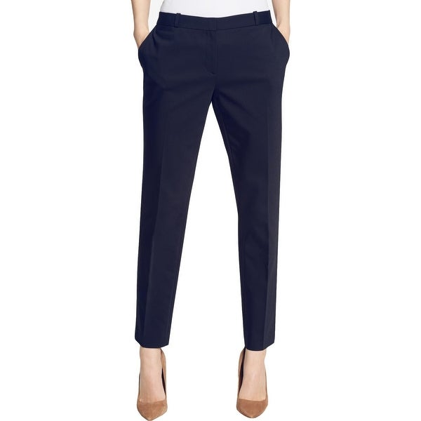 Tommy Hilfiger Womens Radcliffe Ankle Pants Slim Leg Professional