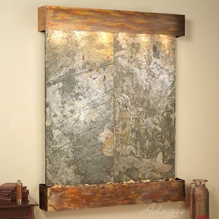Adagio Majestic River Fountain - Square - Rustic Copper - Choose Options