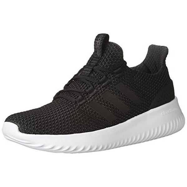 Adidas Mens Cloudfoam Ultimate, Black/Black/Utility Black