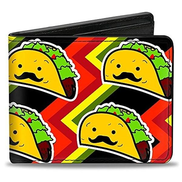 Buckle-Down Bifold Wallet Taco Man