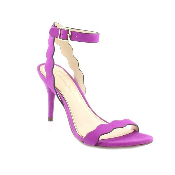 Jessica Simpson Morena Women's Heels Vivid Orchid Elko Nubuck