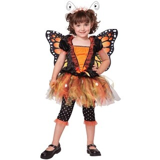 California Costumes Magnificent Monarch Toddler Costume - Orange