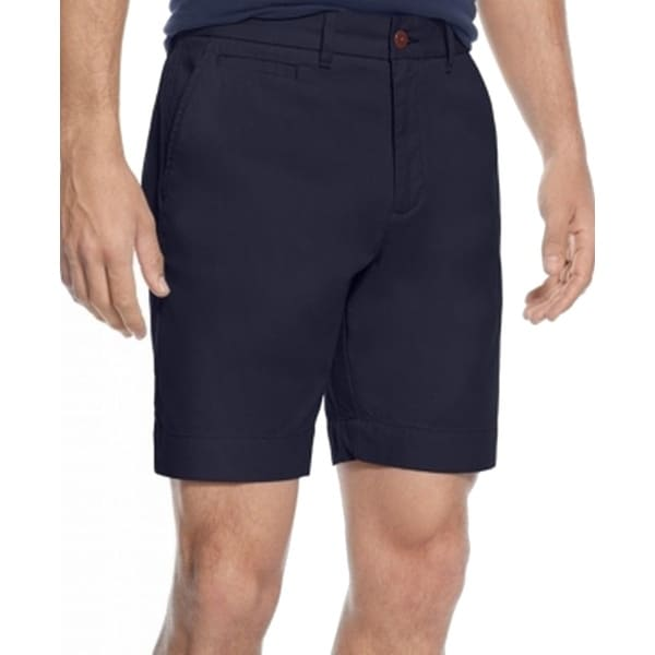 TOMMY HILFIGER CHINO SHORTS REGULAR FIT IN NAVY BLUE
