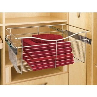 Rev A Shelf 18 In. X 14 In. X 11 In. Wire Pull-Out Closet Baskets -