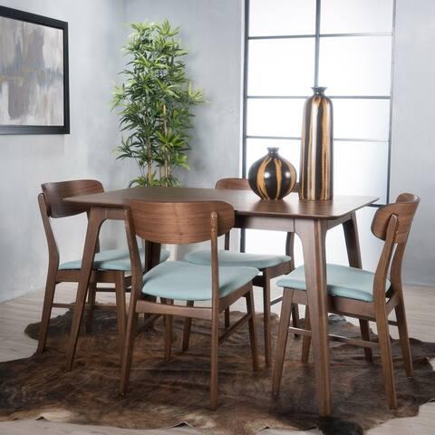 Iriat Mid-Century Modern 5 Piece Dining Set by Christopher Knight Home