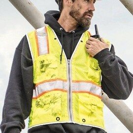 Brilliant Series Heavy Duty Class 2 Visibility Vest