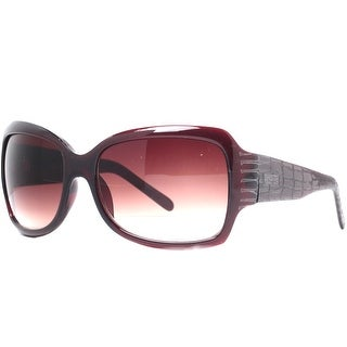 Kenneth Cole Reaction KC1060 00426 Women's Havana Brown Oversized Sunglasses - 61mm-16mm-125mm