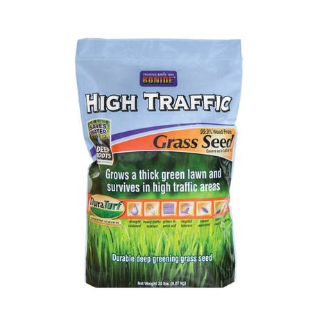 Bonide 60287 High Traffic Grass Seed, 20 Lbs