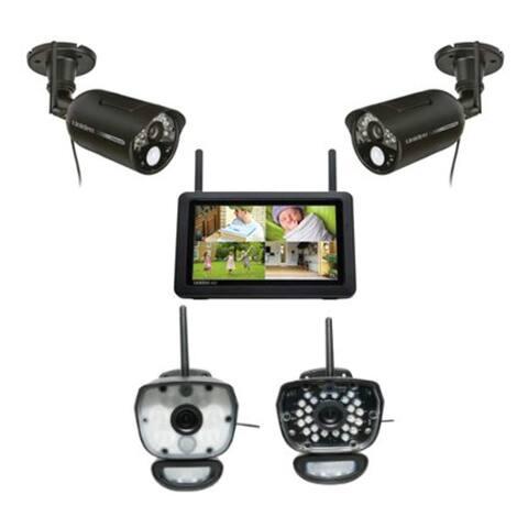 Uniden Wireless Security System Combo w/ UDR777HD Plus UDRC58HD-1 Plus ULC58-1
