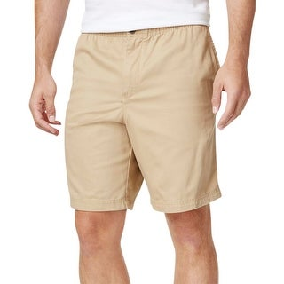 Izod Mens Rick's Weekend Walking Shorts Twill Comfort Waist