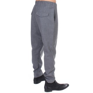 Costume National Costume National Gray casual pleated pants - it48-m